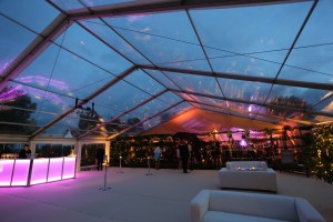 Marquee wedding in Hertfordshire