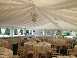 chair hire for wedding Herts