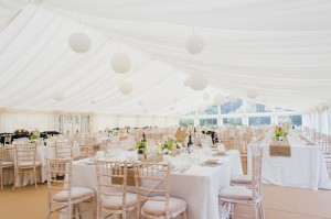 Marquee wedding Buckinghamshire