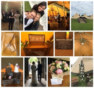 Tipi wedding Kent