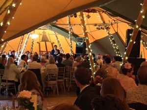 Wedding Planner Kent Tipi style
