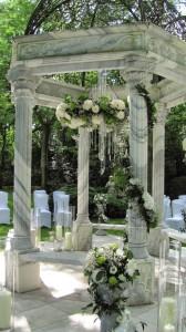 Temple wedding ceremony