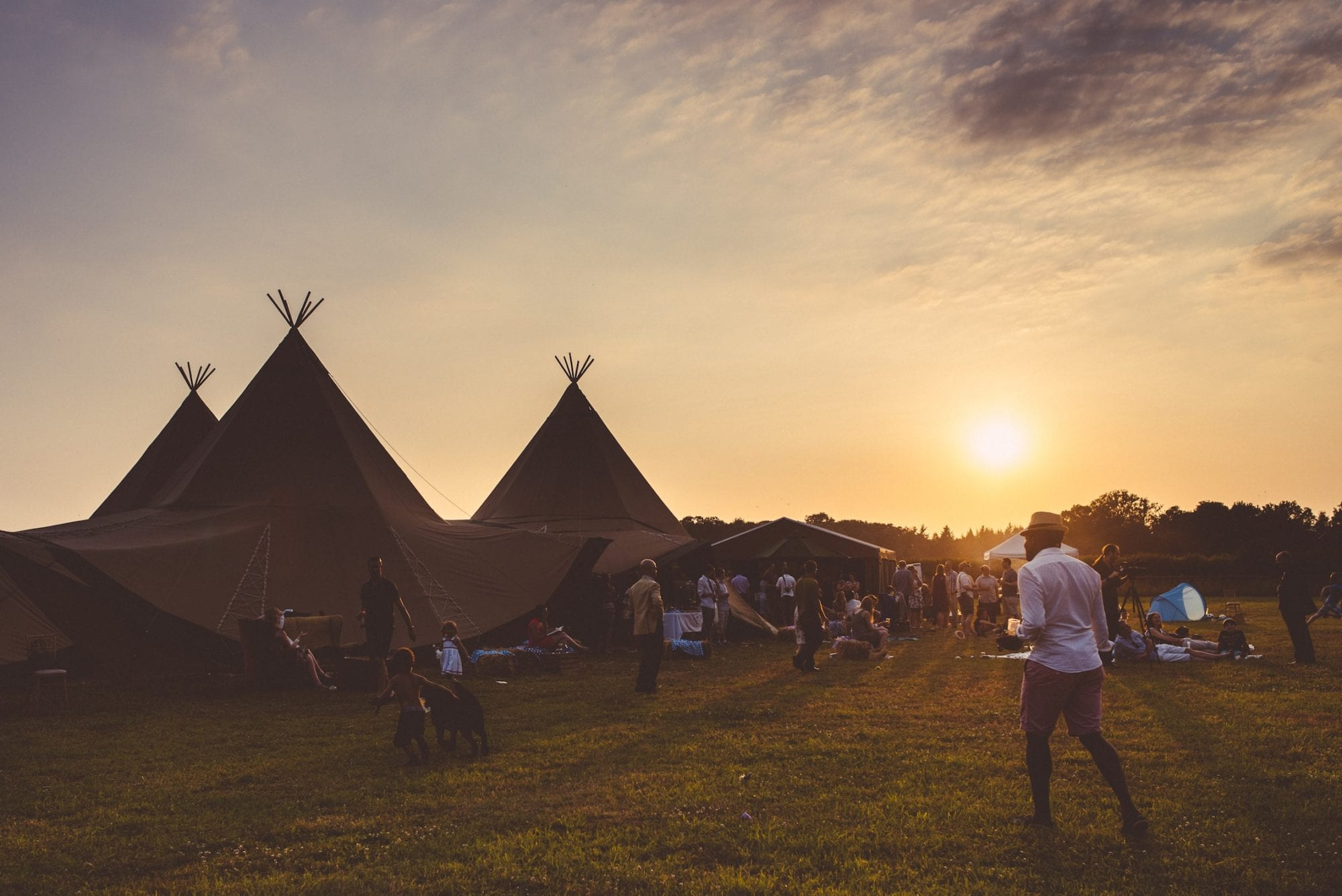 tipi weddings
