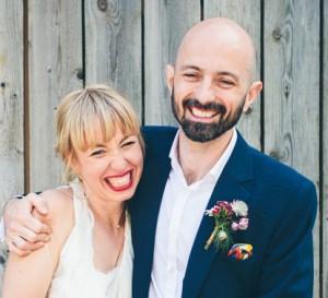 Barn wedding in Sussex