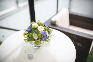 London party flowers