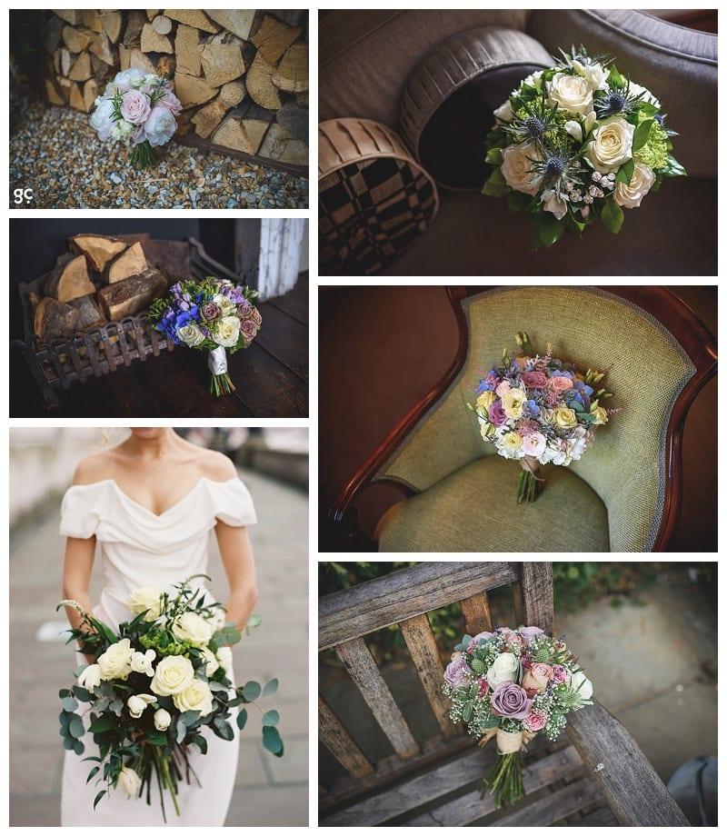 Bridal bouquet herts