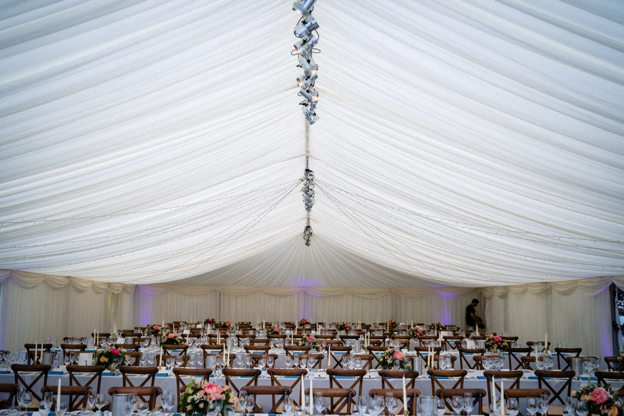 Marquee wedding planner